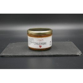 TERRINE TRADITIONNELLE AU PIMENT D'ESPELETTE 180g